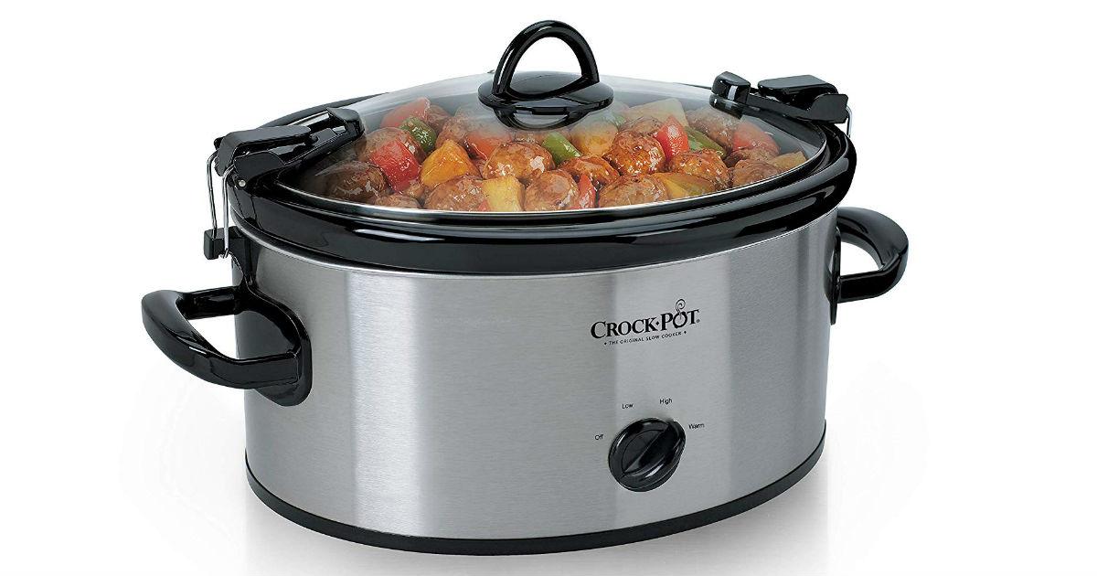 Crock Pot 6-Quart Slow Cooker ONLY $20.65 (Reg. $50)