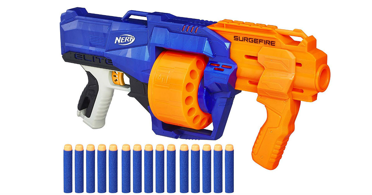 Nerf N-Strike Elite SurgeFire ONLY $15.69 (Reg. $25)