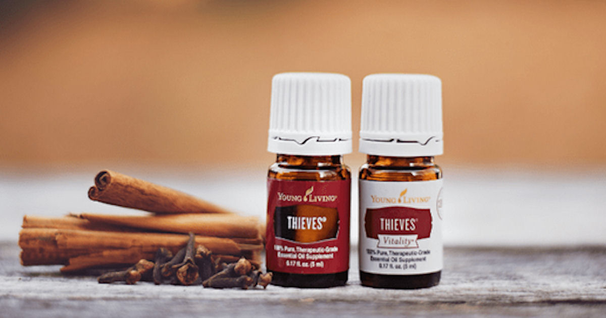 FREE Sample of Young Living Essential Oil or Thieves Cleaner