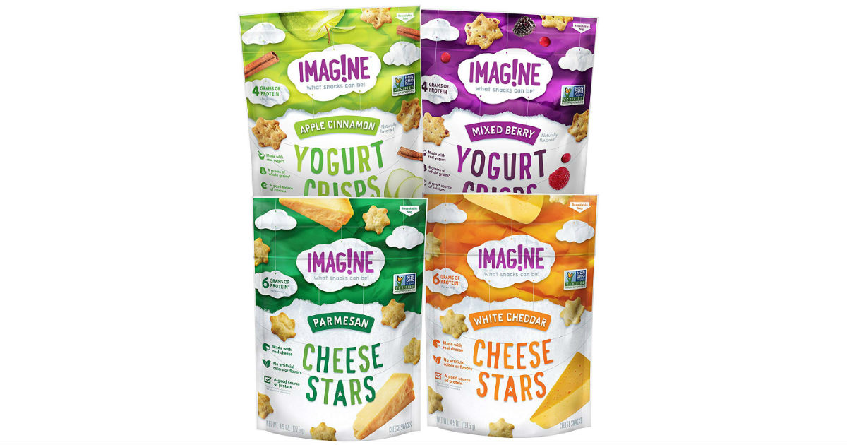 Imag!ne Snacks Sampler Variety 4-Pack ONLY $10.28 Shipped