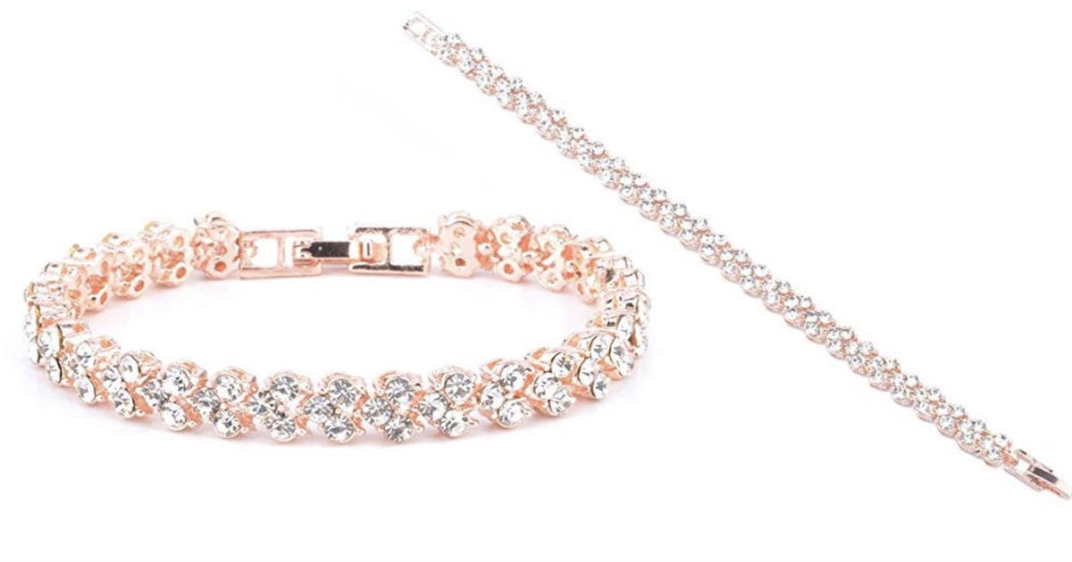 Roman Style Crystal Diamond Br...