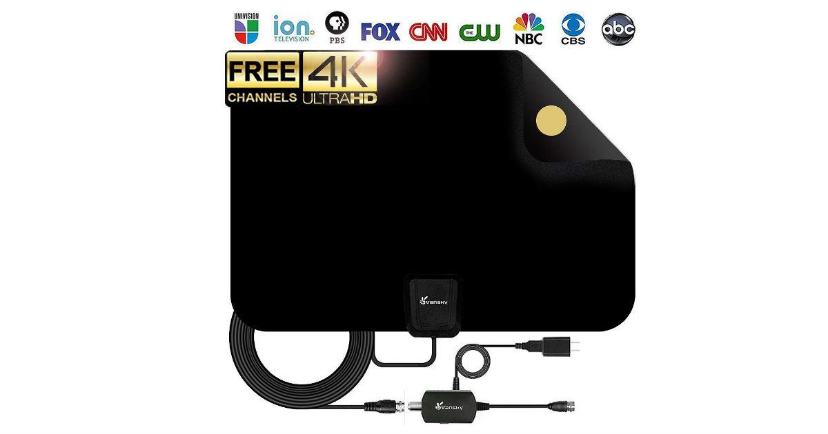 HDTV Antenna ONLY $15.20 on Amazon (Reg. $90)