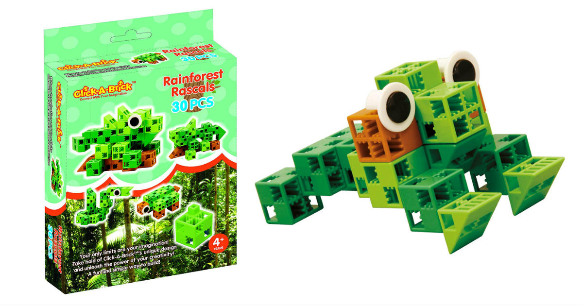 Click-A-Brick Rainforest Building Set ONLY $11.73 (Reg. $25)