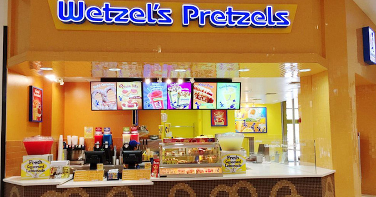 FREE Pretzel with the Wetzel's...