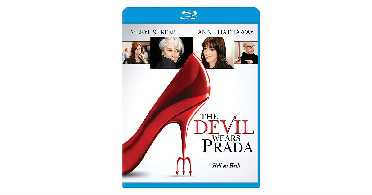 The Devil Wears Prada on Blu-ray ONLY $4.99 (Reg. $10)