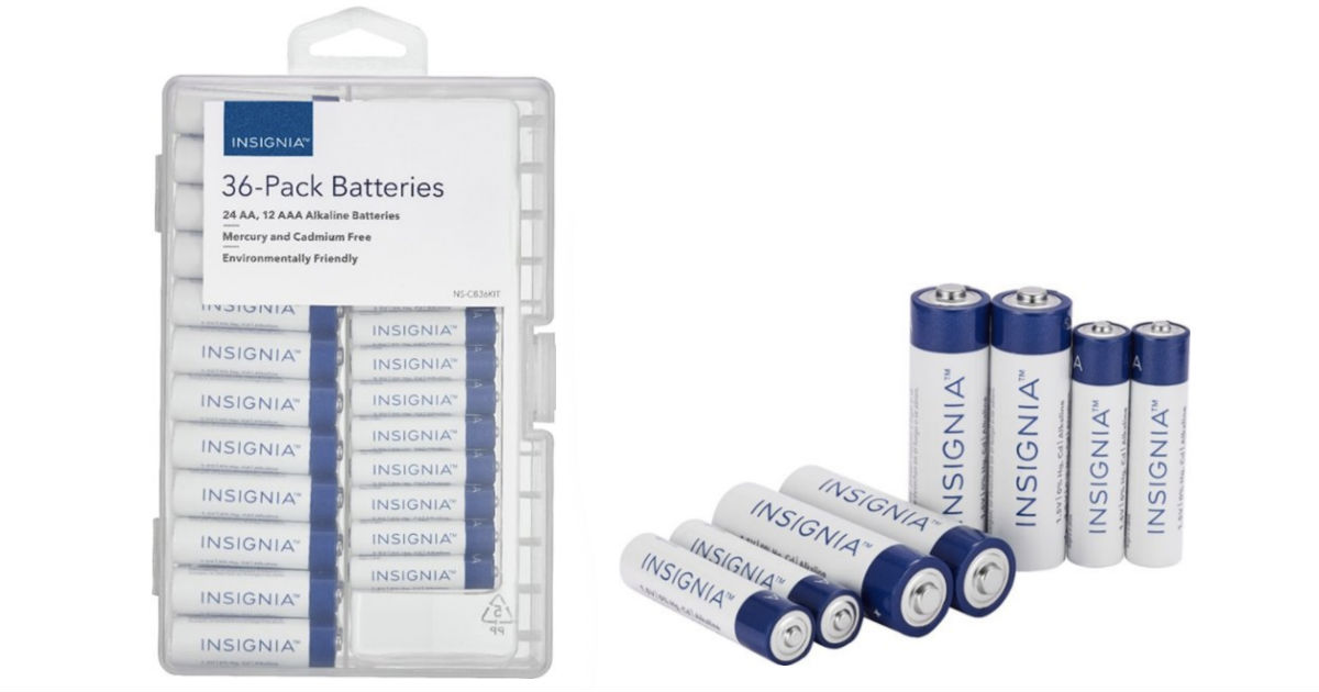Insignia AA / AAA Batteries 36...