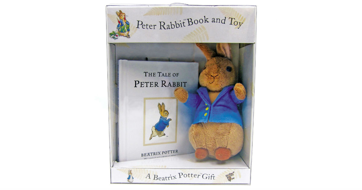 Peter Rabbit Book and Toy ONLY $9.98 (Reg. $17)