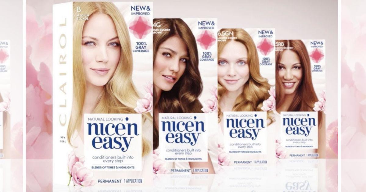 Clairol Nice'N Easy Hair Color...