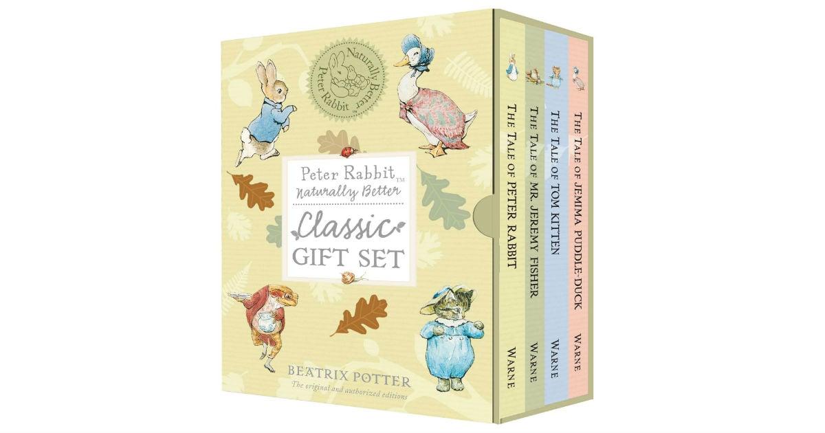 Peter Rabbit Hardcover Book Set ONLY $15.99 (Reg. $25)