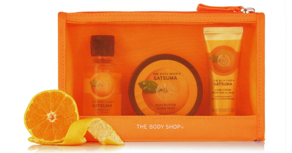 The Body Shop Satsuma Bag on Amazon