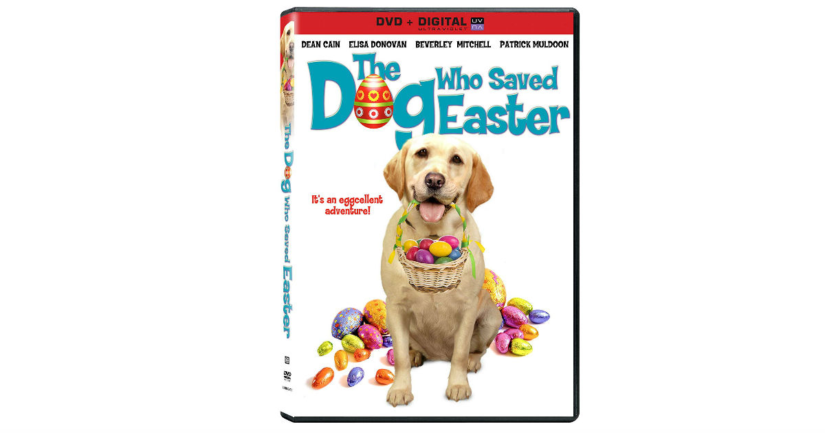 The Dog Who Saved Easter on DVD ONLY $7.62 on Amazon