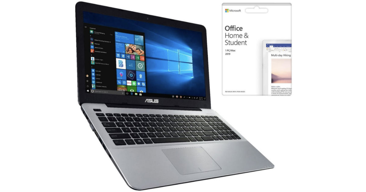 ASUS 15.6-In Laptop ONLY $319.
