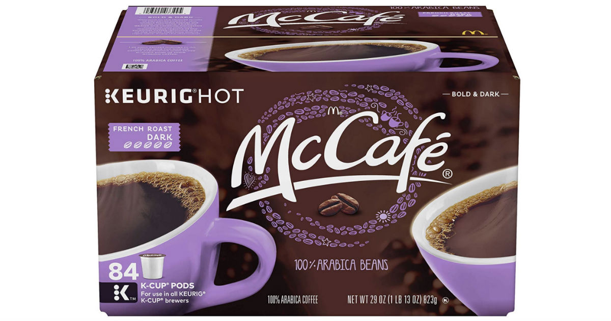 McCafé Coffee K-Cups 84-Count ONLY $19.54 Shipped