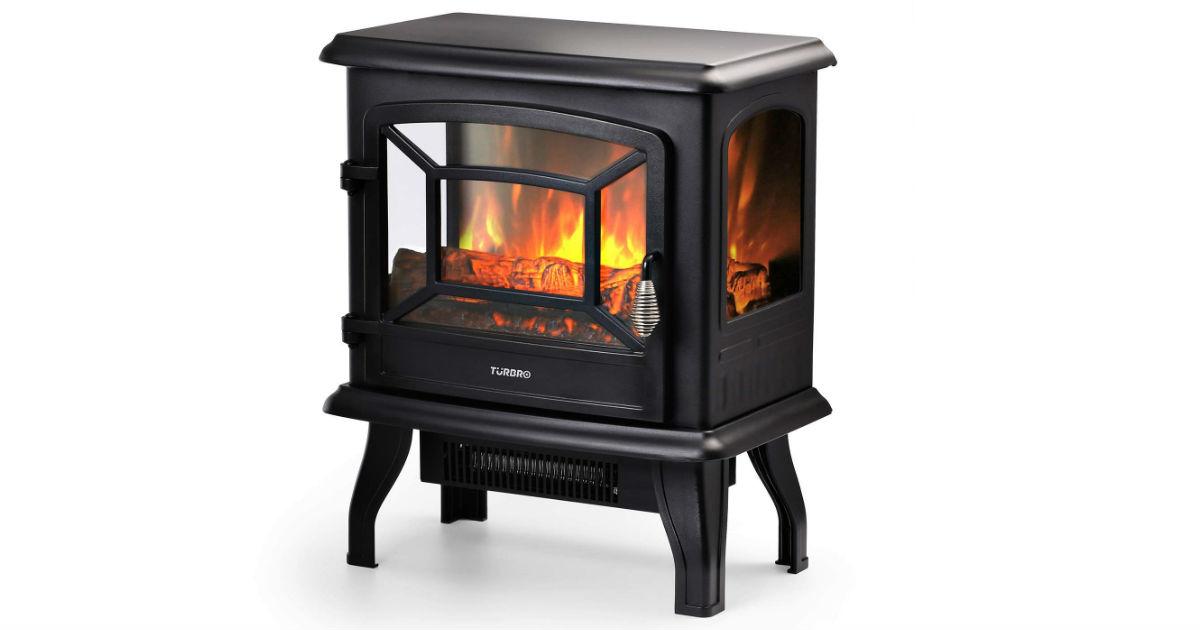 Turbro Suburbs Electric Fireplace Stove ONLY $60.99 (Reg. $130)