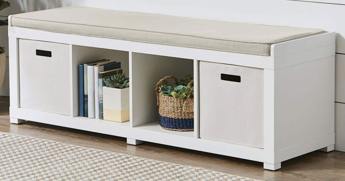 Better Homes & Gardens Storage Bench ONLY $59.99 Shipped