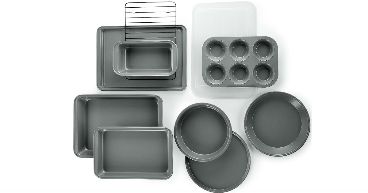 Martha Stewart Essentials Bakeware Set ONLY $19.99 (Reg $50)