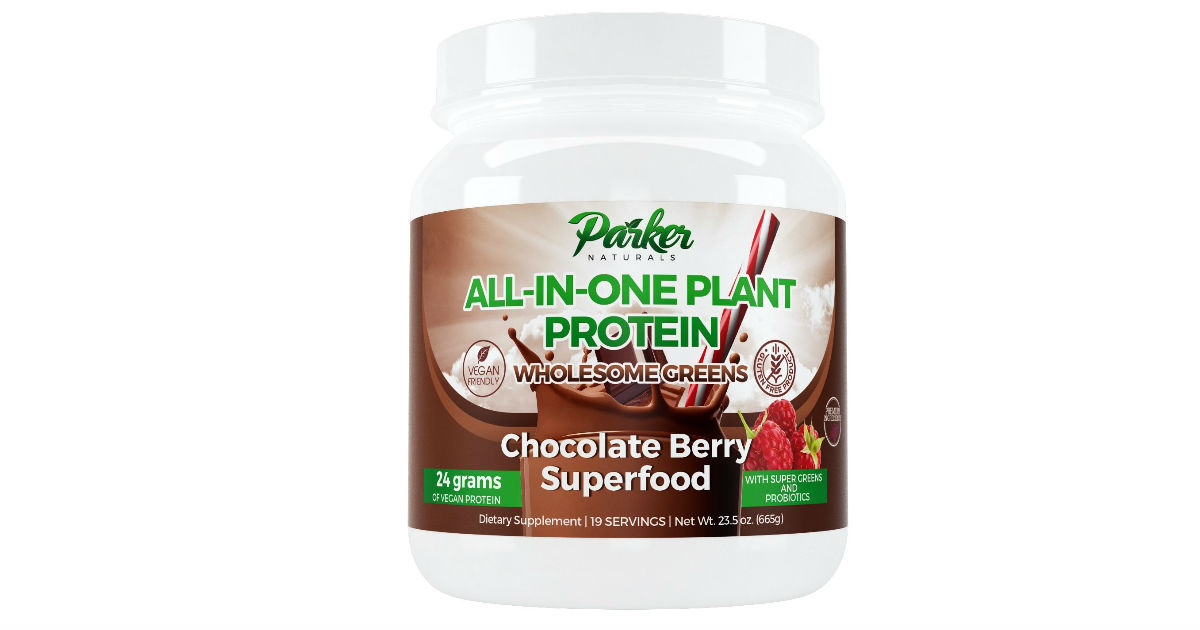 Parker All-In-One Plant Protein ONLY $12.70 (Reg. $33)