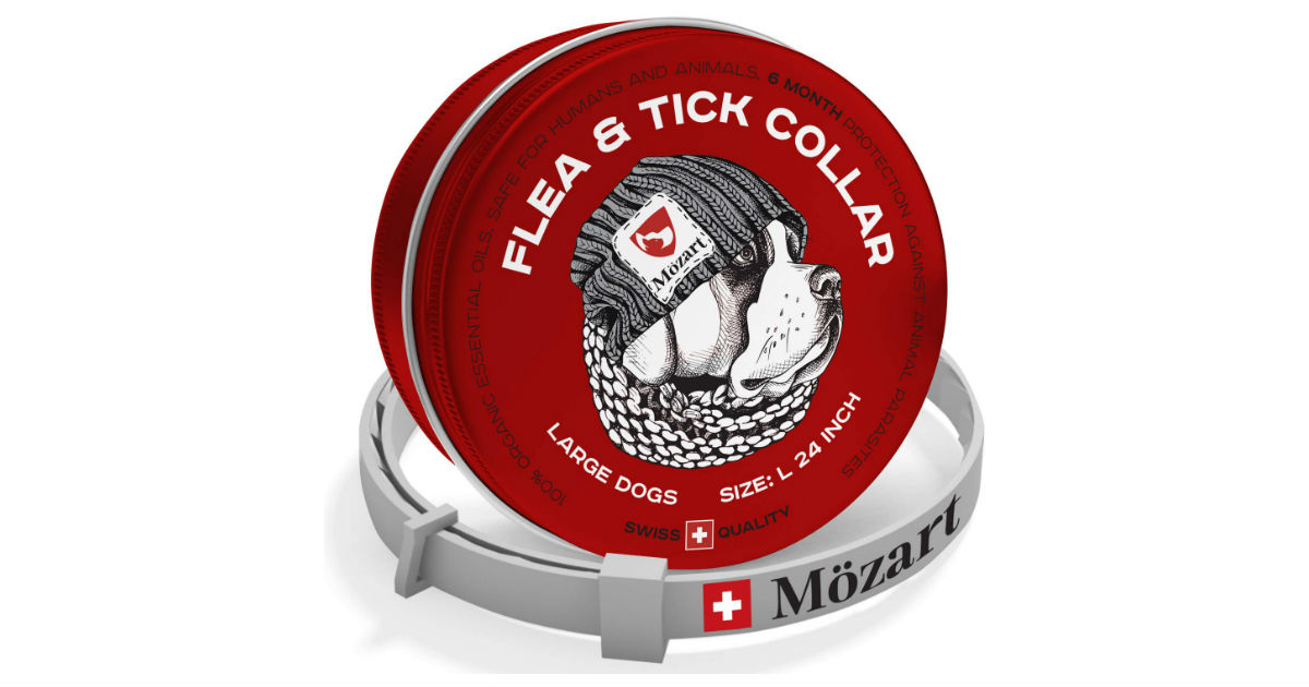 Mozart Flea and Tick Collar ONLY $16.97 (Reg. $50)