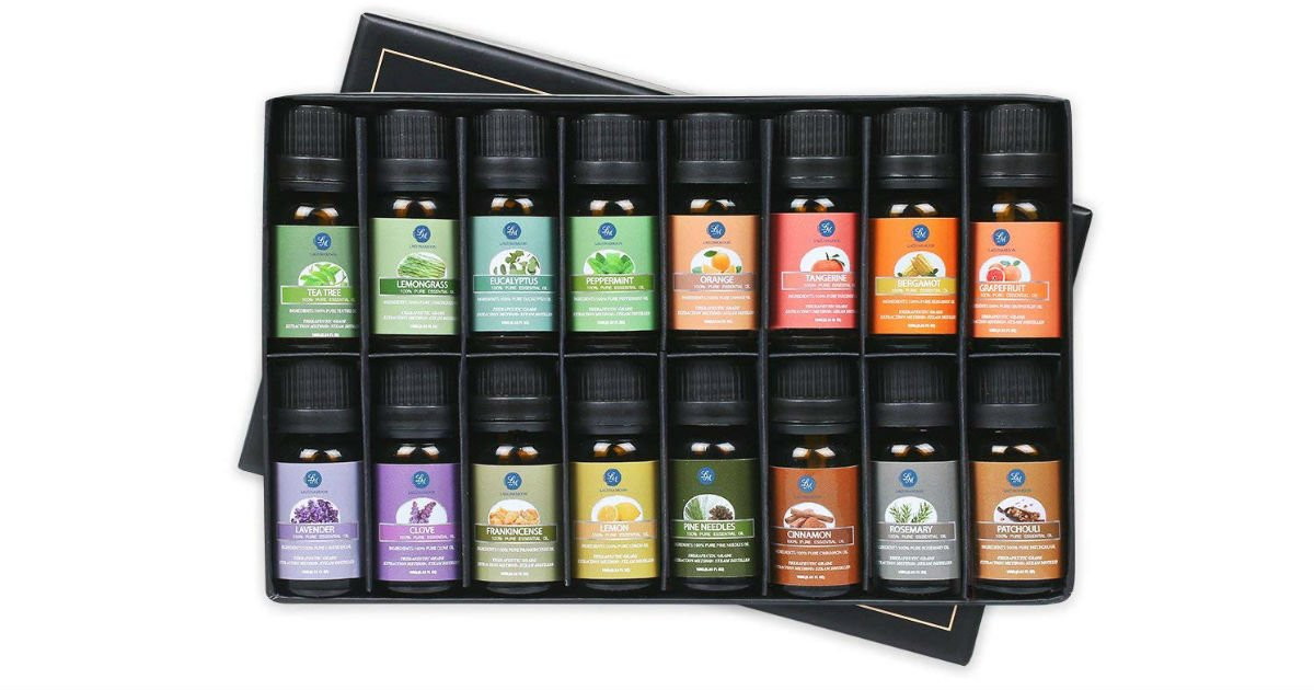 Lagunamoon Essential Oils Gift Set ONLY $18.05 (Reg. $36)