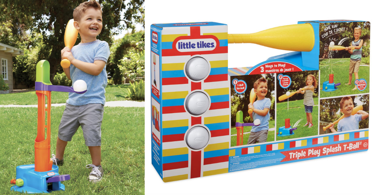 Little Tikes Triple Splash T-B...