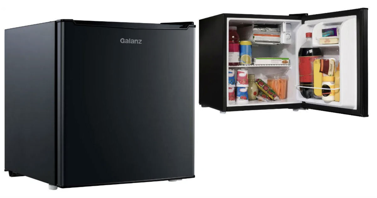 Galanz Single Door Mini Fridge...