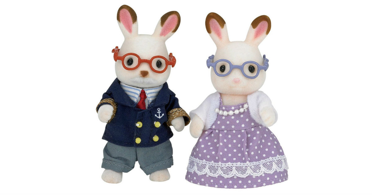 Calico Critters Rabbit Grandparents ONLY $8.45 (Reg. $20)