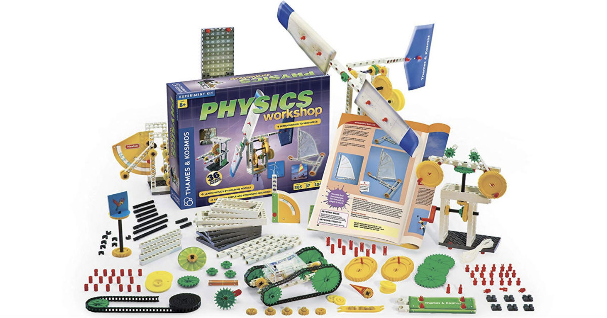 Thames & Kosmos Physics Workshop Kit ONLY $17.99 (Reg $55)