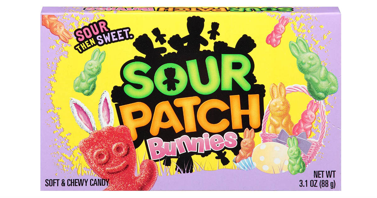 Sour Patch Kids Easter Bunnies 12-Pack ONLY $8.55 on Amazon