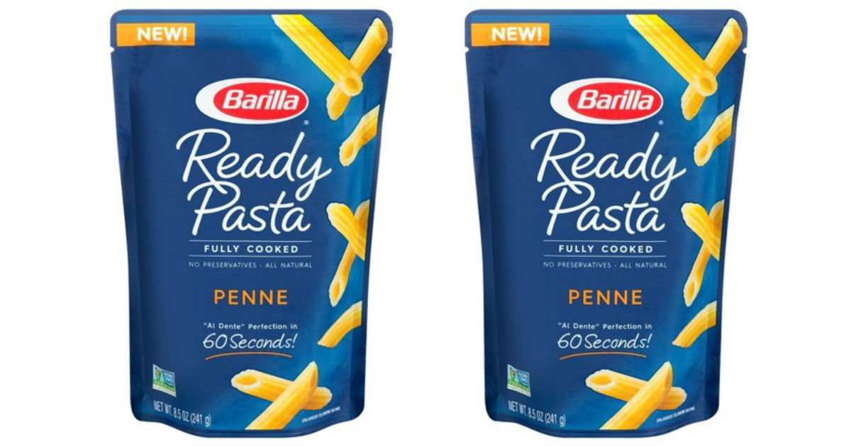 Barilla Ready Pasta Pouch ONLY $0.79 at Target (Reg $2)