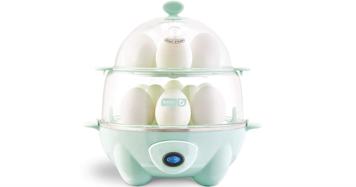 Dash Deluxe Rapid Egg Cooker ONLY $19.99 at Amazon (Reg $30)
