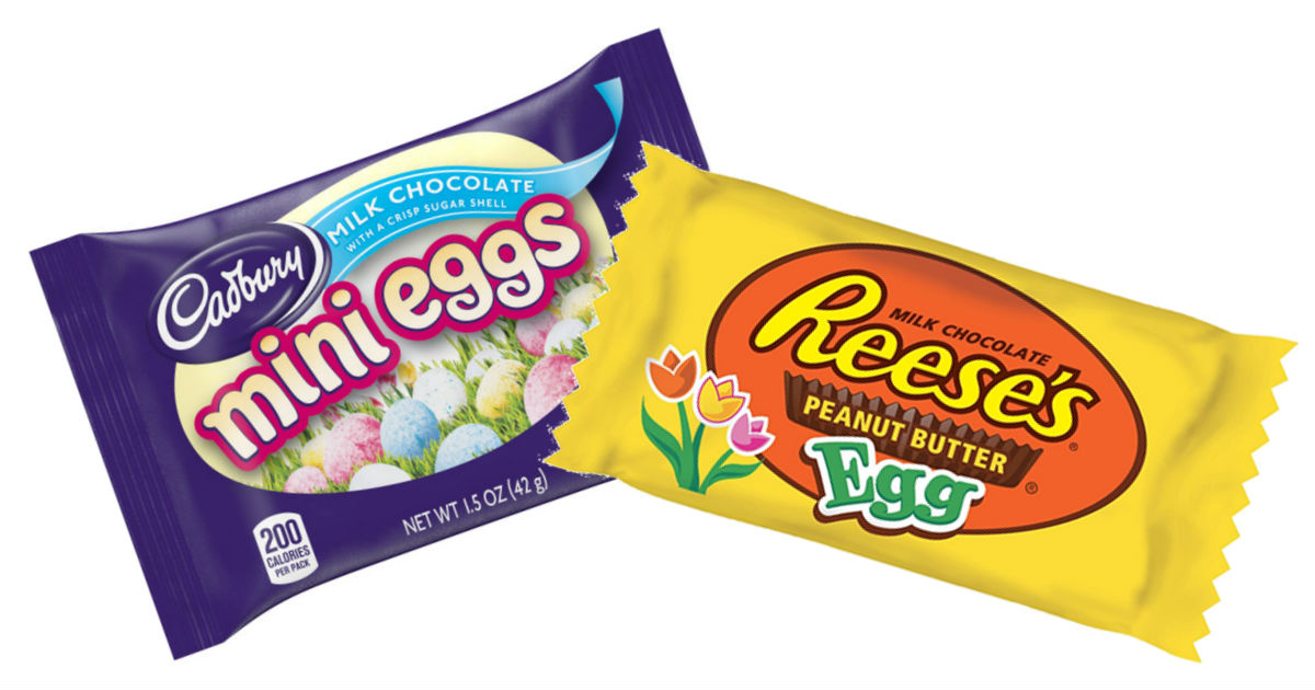 Cadbury & Hershey's Easter Candy Only $0.63 at CVS