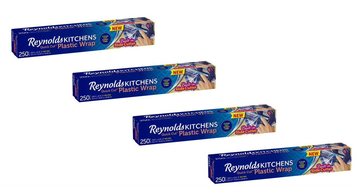 Reynolds Plastic Wrap Only $1.58 at Target (Reg. $3.99)