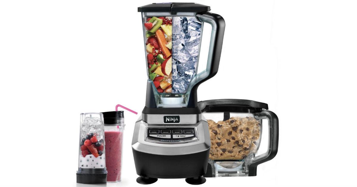 Ninja Supra Kitchen Blender System w/ Food Processor ONLY $99