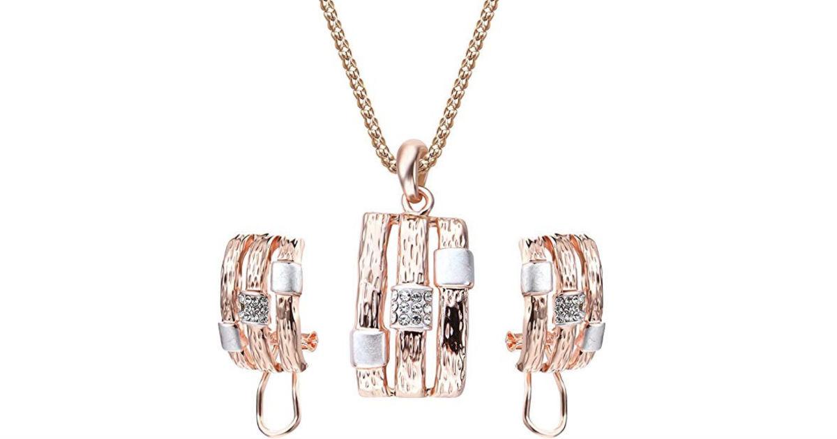 Luxury Elegant Jewelry Set ONLY $4 Shipped