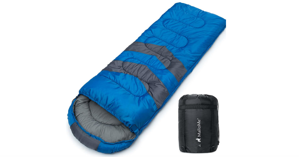 MalloMe Camping Sleeping Bag ONLY $29.74 (Reg. $98)