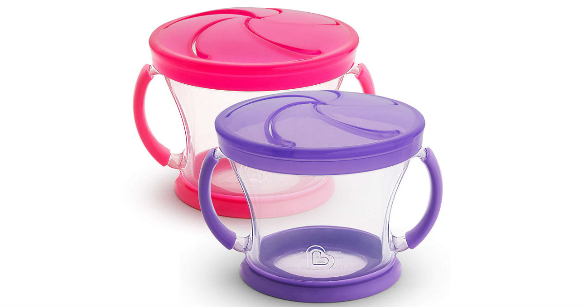 Munchkin Snack Catcher 2-Piece ONLY $3.99 (Reg. $7)