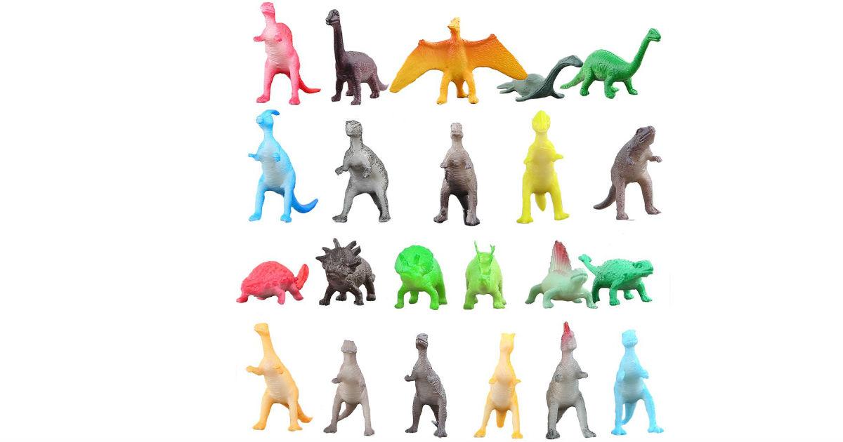 72-Piece Dinosaur Toy Set ONLY $9.48 (Reg. $20)