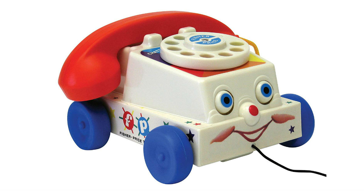 Fisher Price Classics Retro Chatter Phone ONLY $10.26 (Reg. $20)