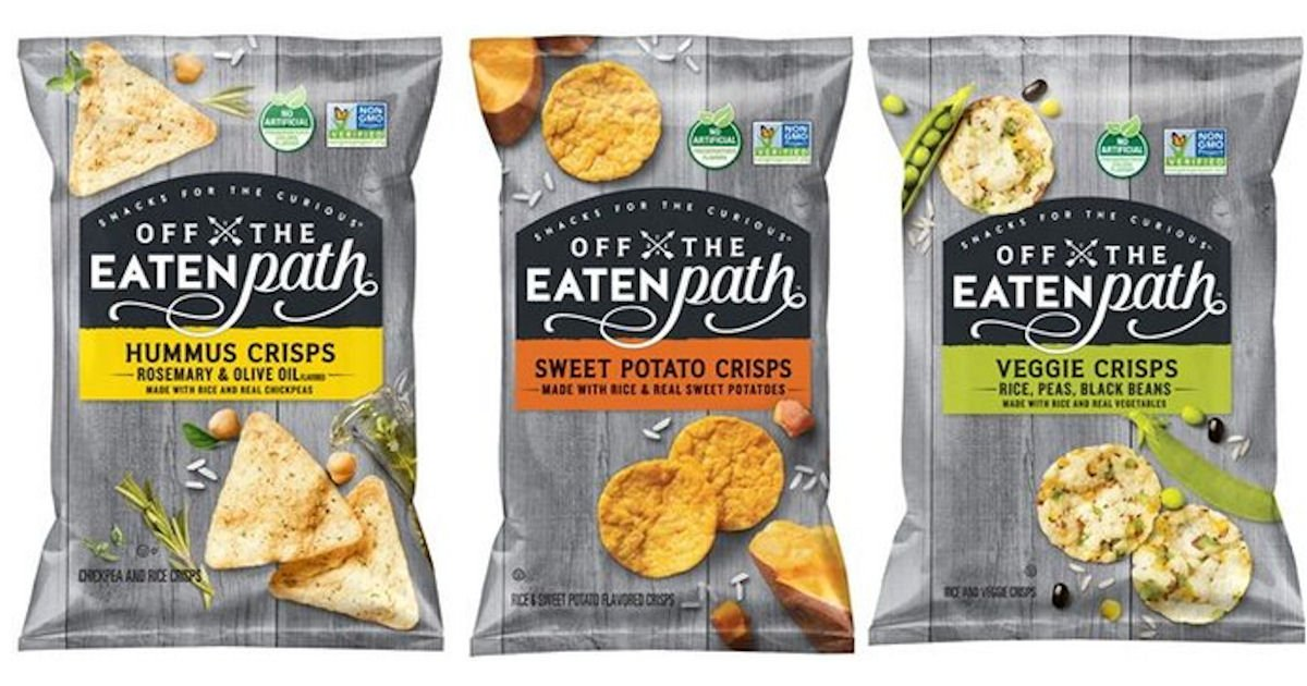 Free Off the Eaten Path Snacks at Shaws & Star Market - Free Product