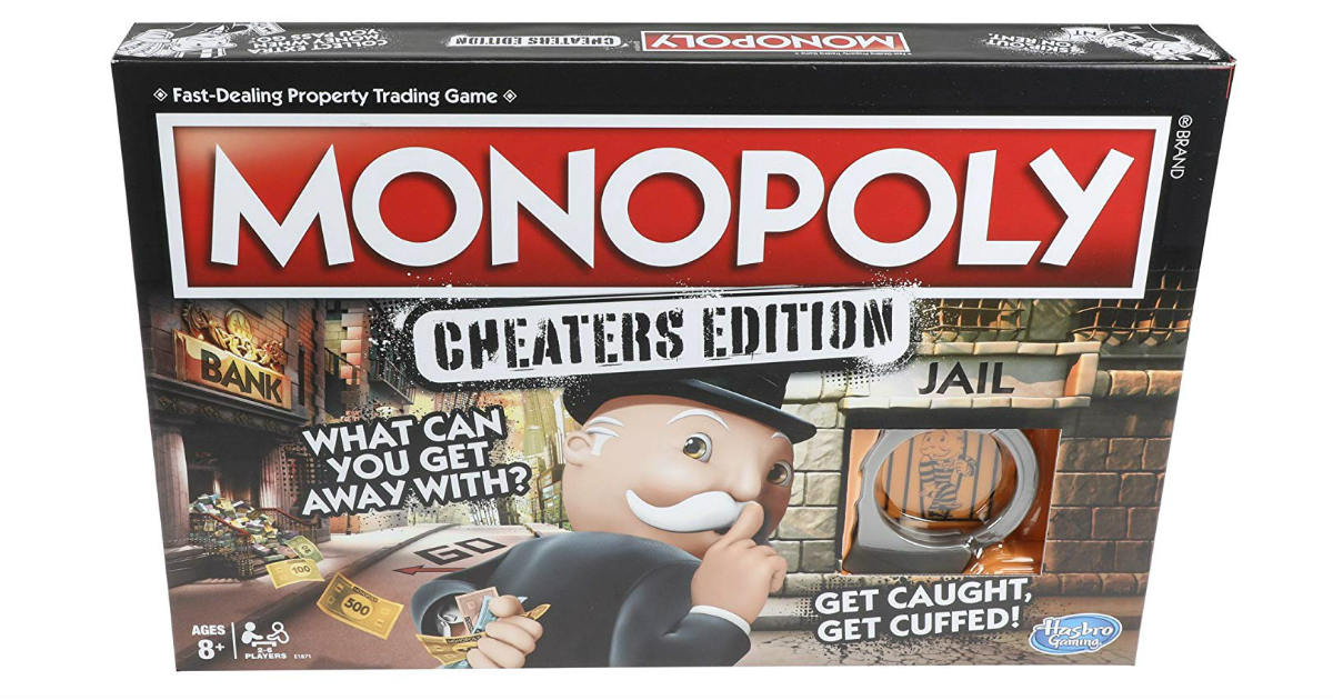 Monopoly Cheaters Edition ONLY $10.07 (Reg. $20)