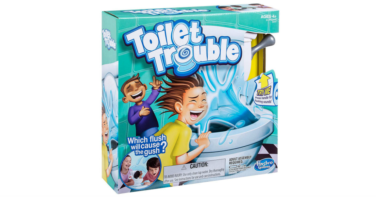 Toilet Trouble Game ONLY $4.99 (Reg. $22)