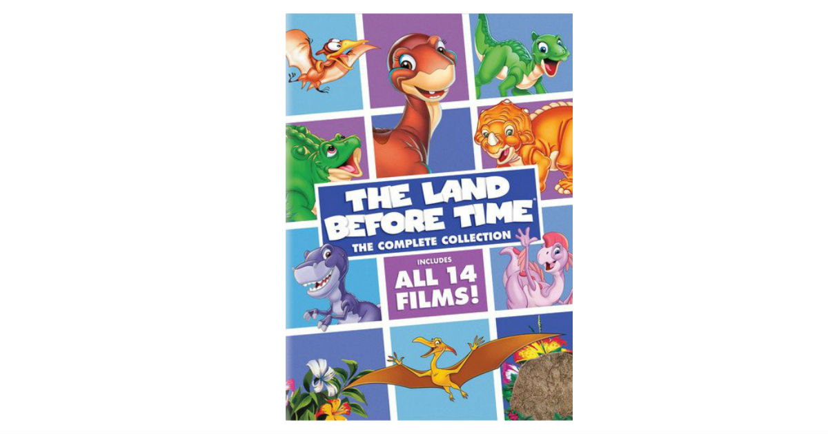 The Land Before Time Complete Collection Box Set ONLY $16.99