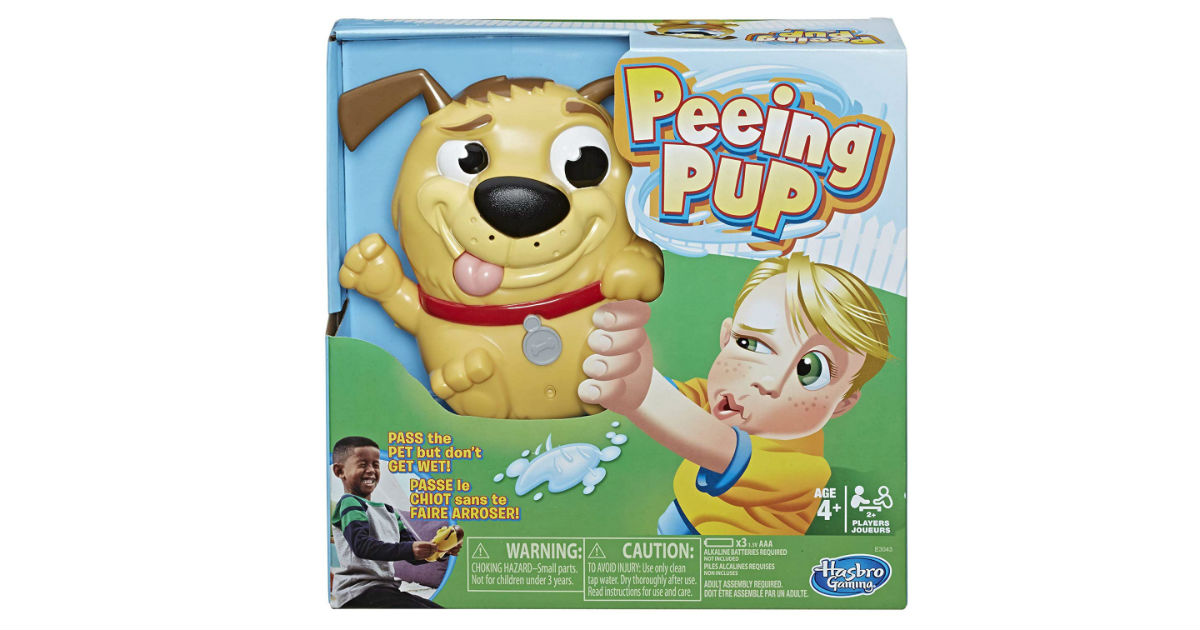 Peeing Pup Game ONLY $9.52 (Reg. $20)