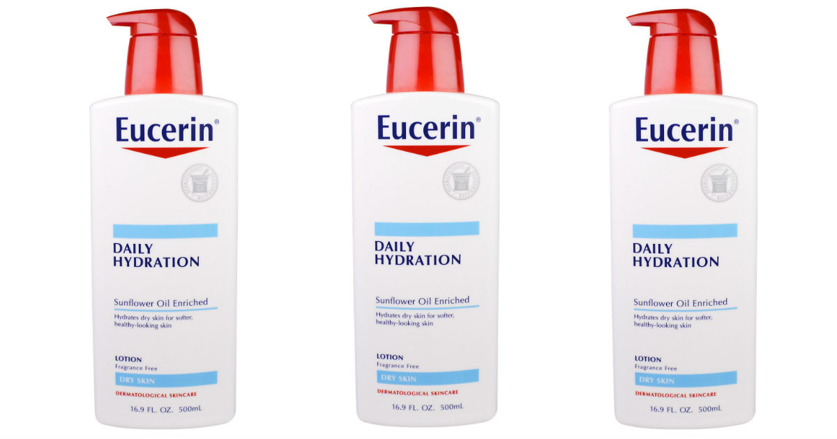 Eucerin Lotion Only $1.49 at CVS (Reg. $11)