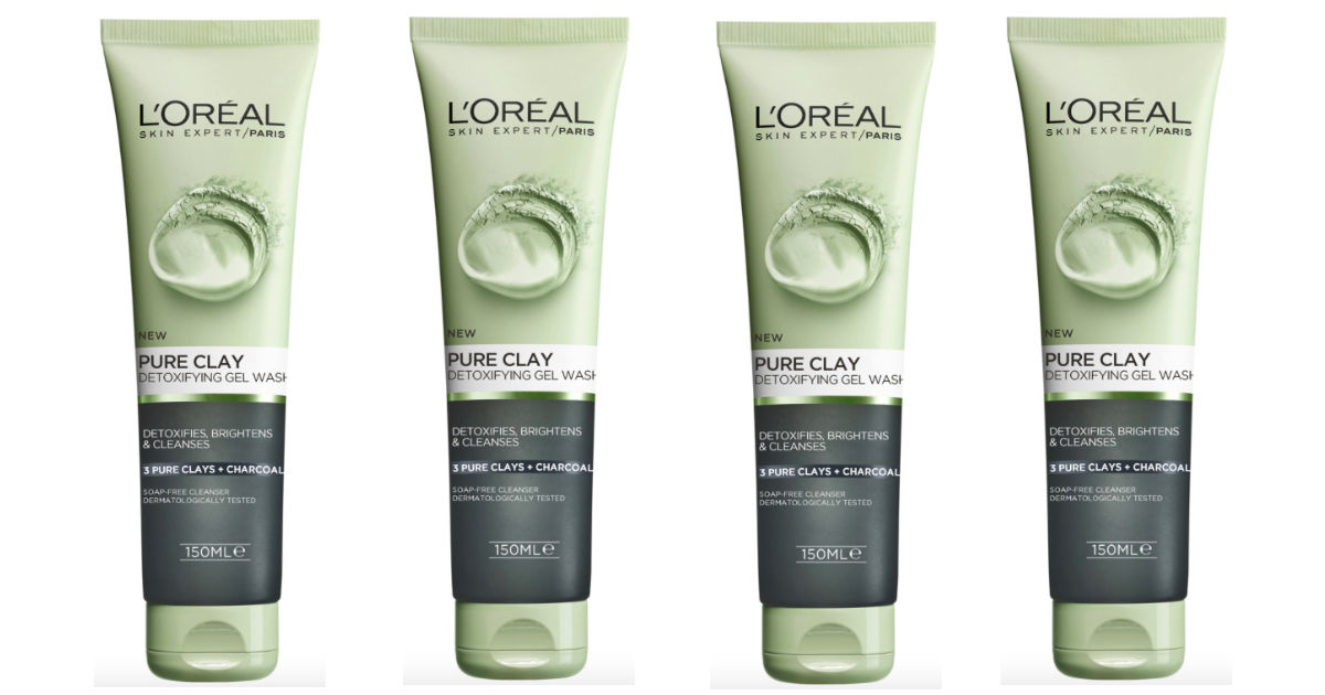 L'Oreal Pure-Clay Cleanser at Target