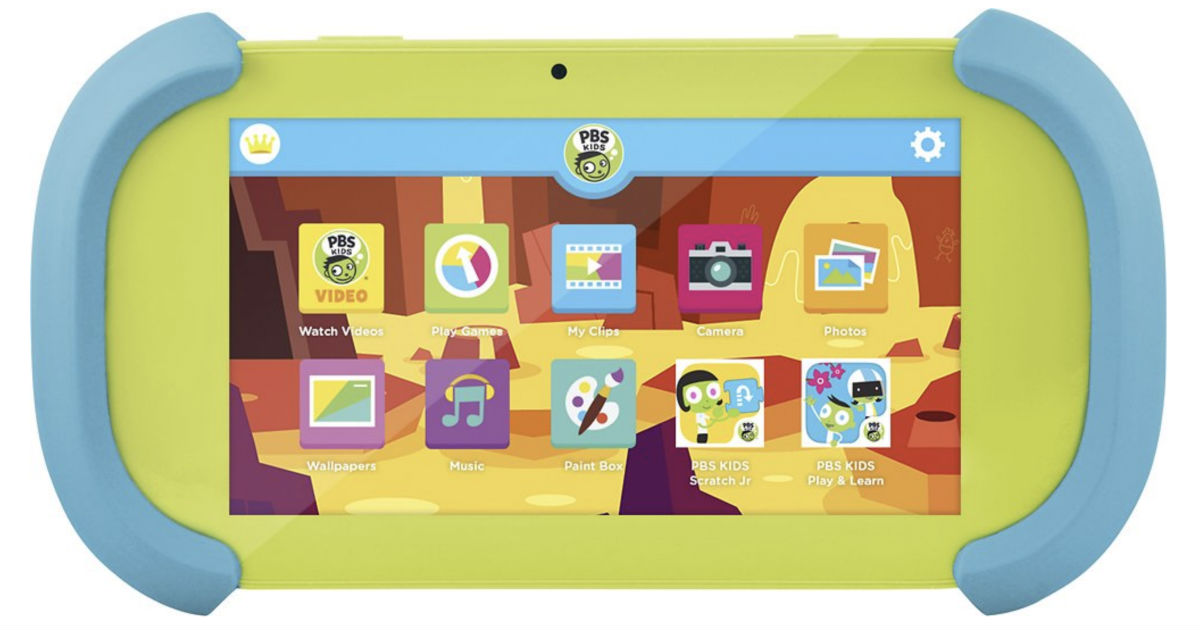 PBS Kids Playtime Pad 7-In Tablet 16GB ONLY $59.99 (Reg $80)