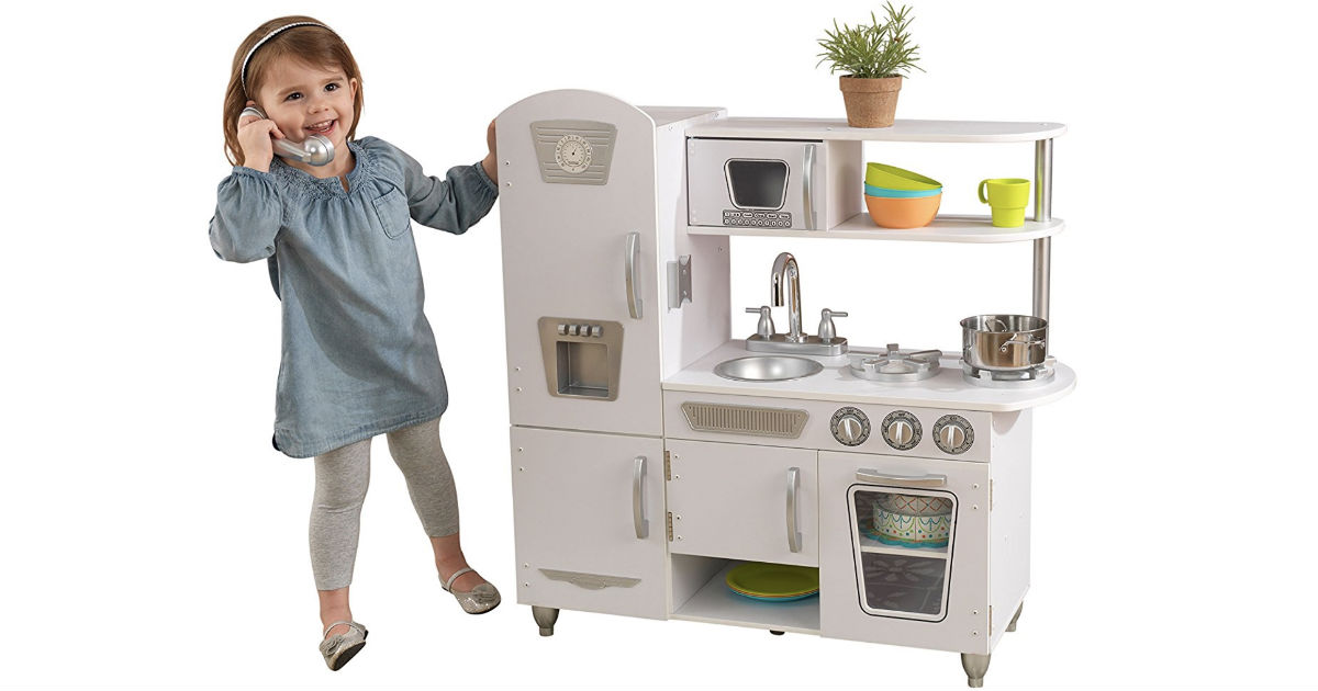 KidKraft White Vintage Kitchen ONLY $77.99 Shipped (Reg $147)