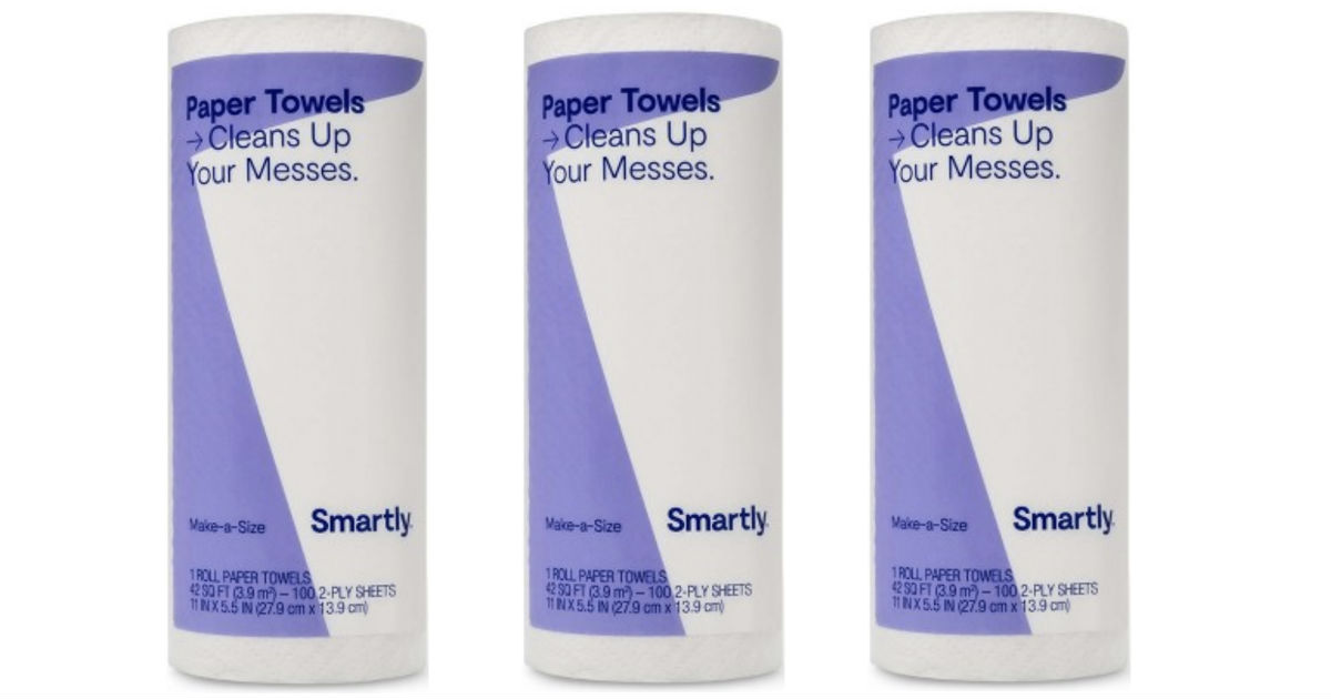 Smartly Paper Towels for ONLY $0.50 at Target
