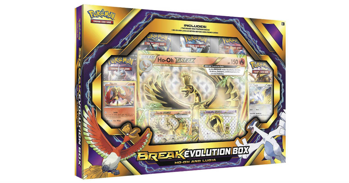 Pokemon TCG Break Evolution Box 2 ONLY $21.99 (Reg. $45)