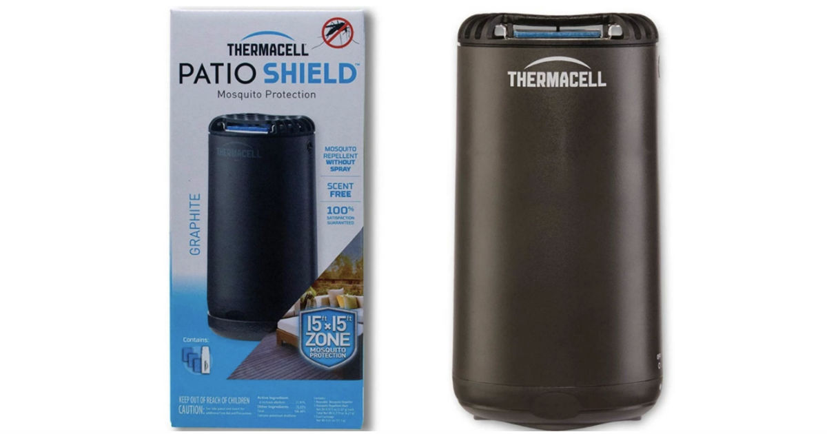Thermacell Patio Shield Mosquito Repeller ONLY $16.49